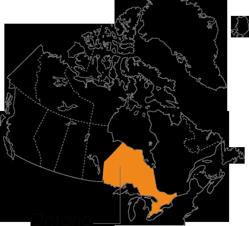 オンタリオ州